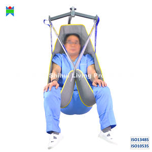 ISO13485   ISO10535 disposable sling single patient transfer cross infection control durable loop and clip style