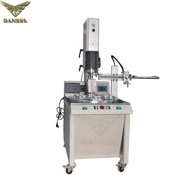 High Capacity PP/ABS/PE/PA/PS/PET Ultrasonic Welding Machine for Plastic Parts, Plugs, Cases, Toys Airtight and Watertight seams