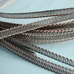 SXLH Corset Boning Pre-cut Stainless Steel Waist Trainer Bone Spiral Steel Bones Accessory