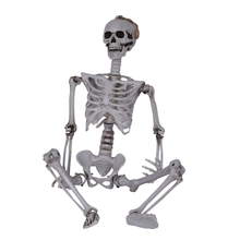 Life Size Horror Prop Bar Haunted House Decoration Simulation human skeleton One piece on behalf of delivery Halloween Plastic S