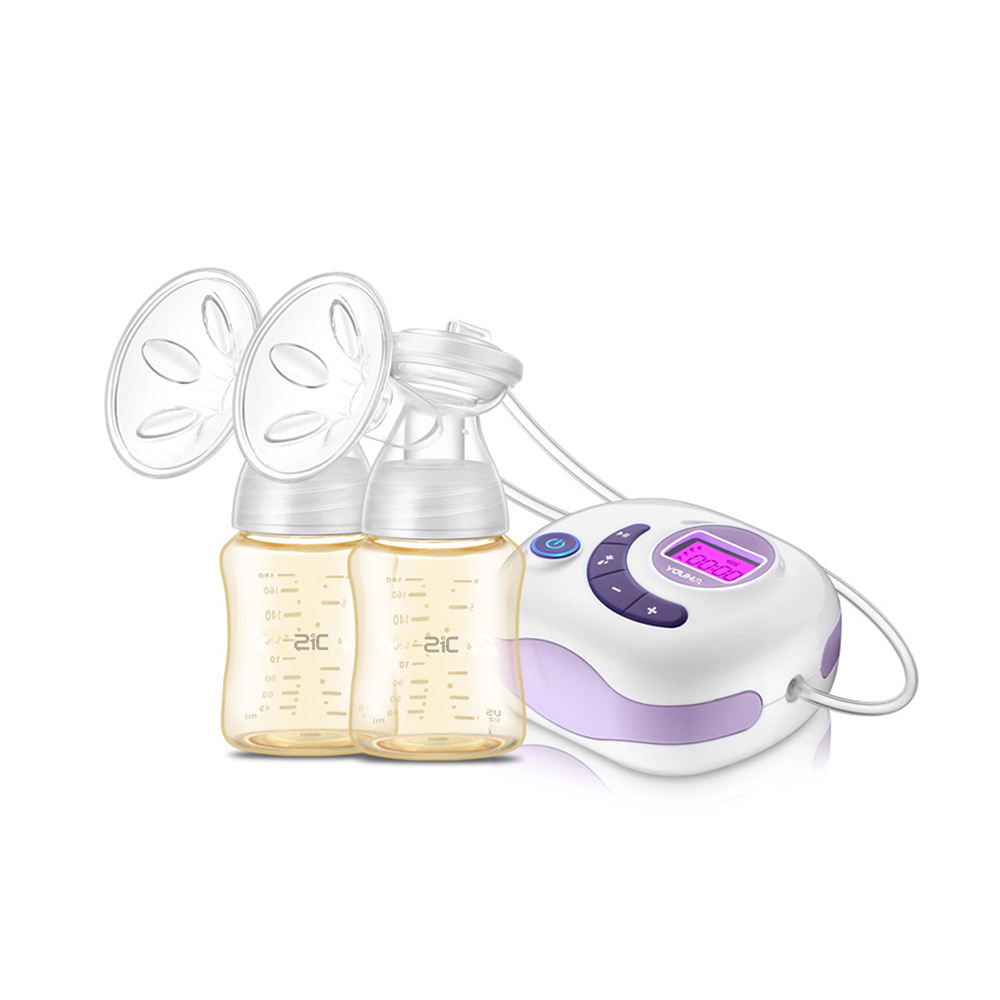 Amazon top selling products 2017 automatic double breast pump electric LCD screen double breast pump dual breast pump