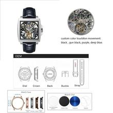luxury men watches hangzhou 3450 custom tourbillon watch