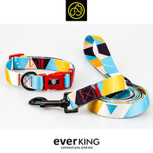 Summer Newest Designs Walking Dog Collar and Leash Set accesorios para mascotas