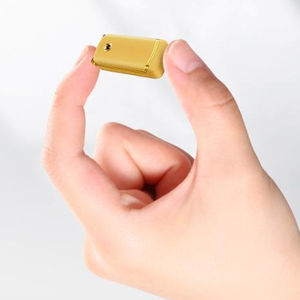 wholesale NANO SIM small size gold phone ulcool unlocked f1 mini pocket special small flip cell mobile phone