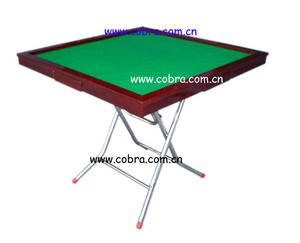 KBL-10M01 Manual operated Mahjong Table with folding legs