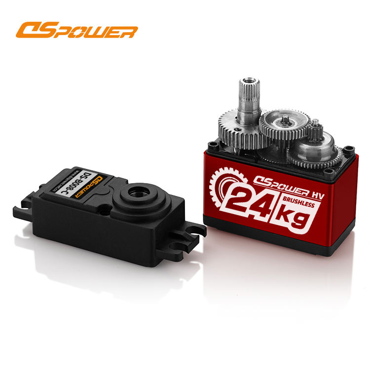 DS Servo Waterproof Standard Digital 25KG High Torque brushless Motor Full Metal Gear RC Servo Used in Remote Control 1:10 Car