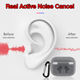 Air pro 3 Wireless Earphone Bluetooth Real Noise Cancelation Air 3 Rename GPS Airoha Metal Mesh 1:1 With Text Logo