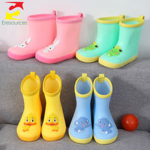 Cheap Kid Cute Cartoon Rain Boots With Cute Animal