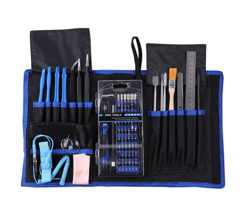 80 in 1 Multi-purposed Precision Screwdriver Set Electronics Repair Tool Kit