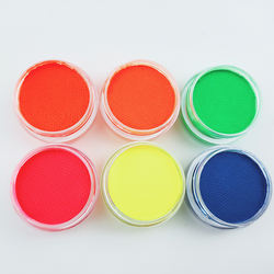 Customized Logo 3g Common Fluorescent Eyeliner UV Water Based Face Paint