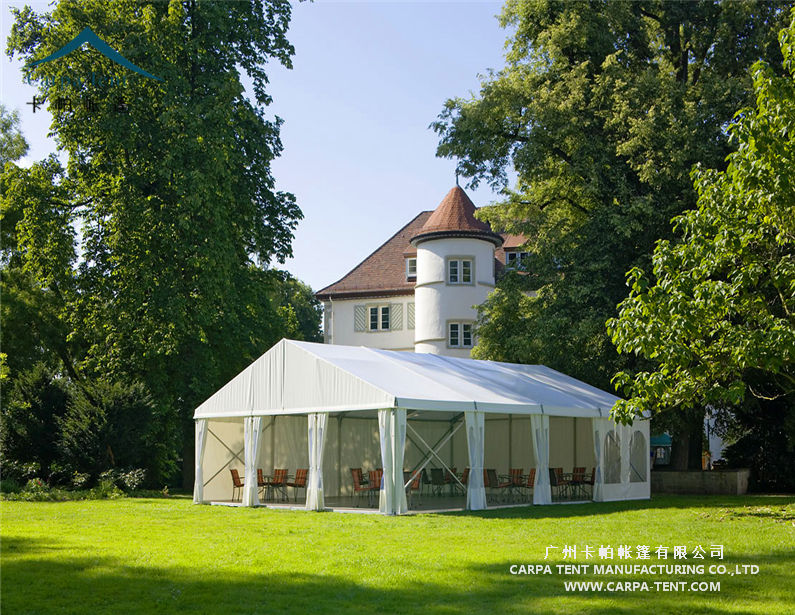 china supplier 500 square meter tent prefab houses for wedding party