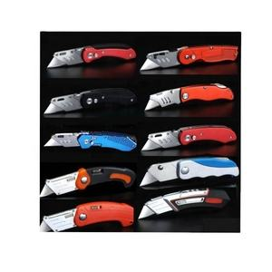 Mini Utility Knife Promotion Gift Pocket Foldable Quick Change cut Blades Lock Back fold Folding Box Cutter knife Utility knife