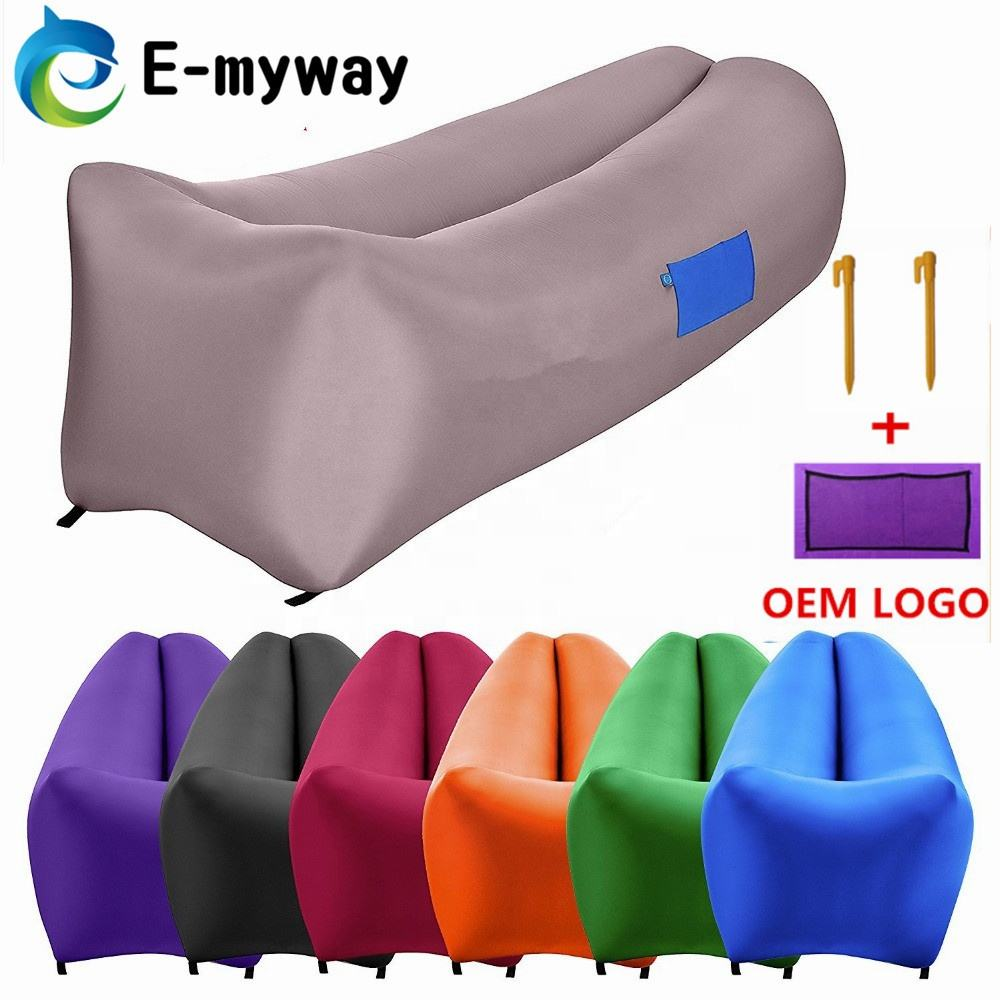 Best Selling Products air sleeping bag/ nylon laybag Inflatable lounger lazy bag Air Sofa, Air Folding Bed Laybag Sleeping bag