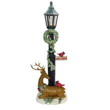 Hot Sales Polyresin Christmas Light Resin Deer Sculpture