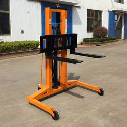 Non-standard Widened Hand Stacker Truck Wide Leg Manual Hydraulic Forklift Pallet Stacker