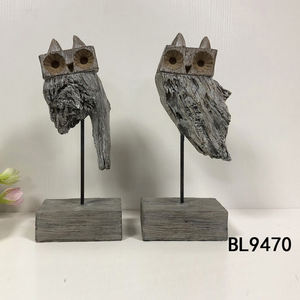 Items Statue Resin Art Sculpture Figurines Home Owl Decoration Resin