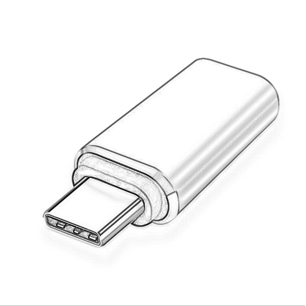 OTG Adapter Type C Female To Lighting Male For iPhone Mini USB C Connector Portable Charging Data Converter