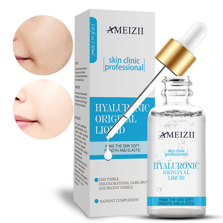 Hyaluronic Acid Serum Plant Extract Gold Facial Serum Face Wrinkle Removal Skin Care Set Stemcell Whitening Serum Private Label