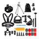 Gopro Hero 8 7 Black /6/5/4 Accessories Set for Action Camera go pro/xiaomi yi/ Waterproof Carrying Case