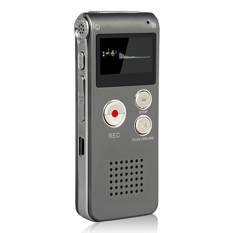 Hot Mini Digital Voice Recorder für Vortragsveranstaltungen mit doppelempfindlichem Mikrofon und MP3-Wiedergabe