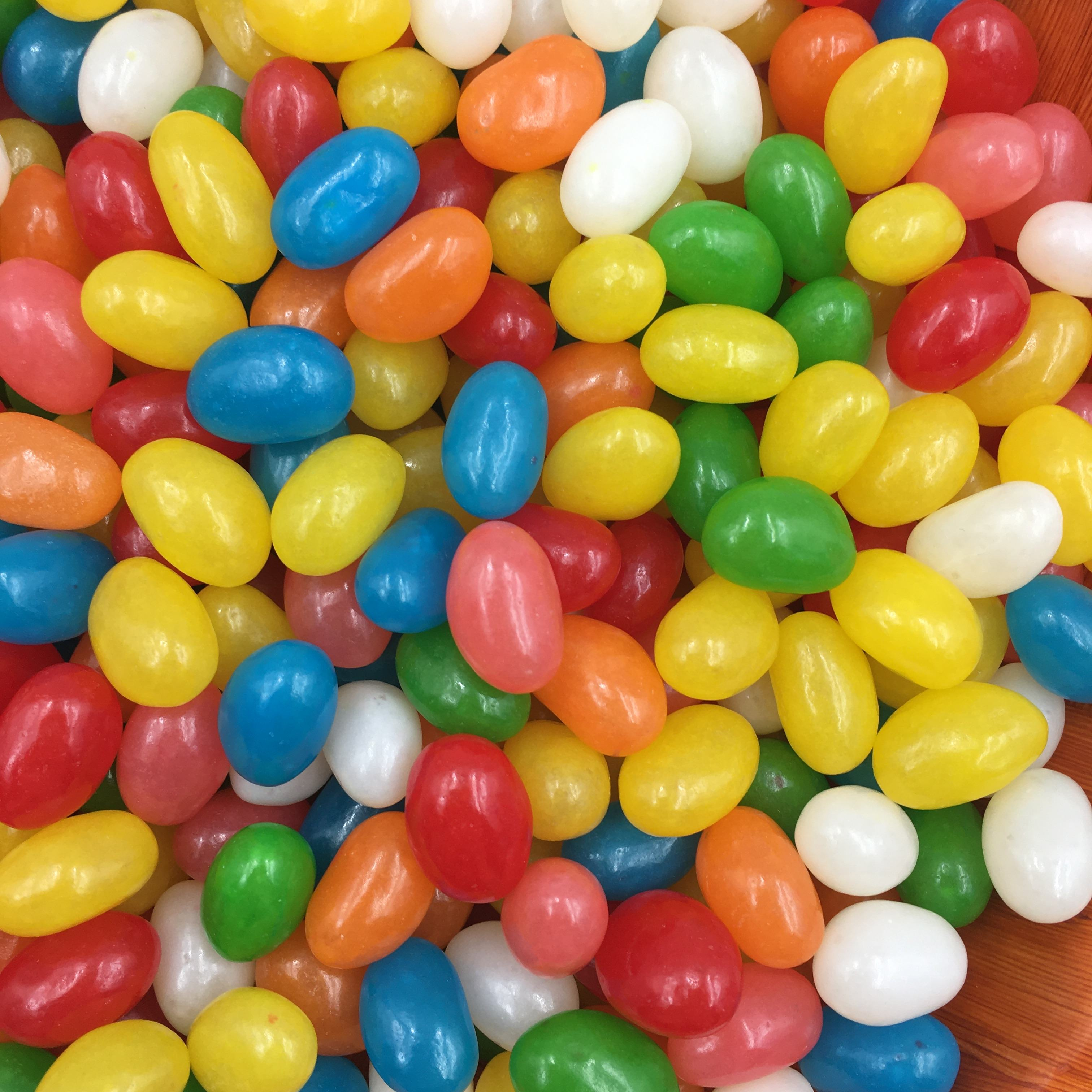 Bag package coloful sweet soft candy sweets jelly bean candy
