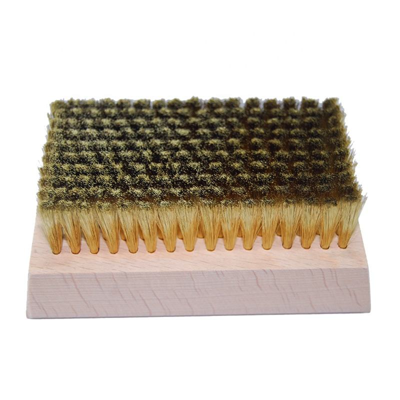 Anilox Roll Cleaning Copper Brass Wire Polish Brush