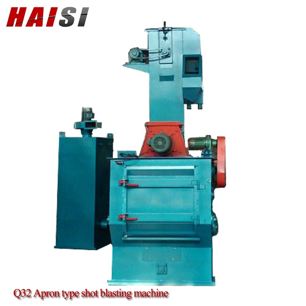 Q326 Rubber belt shot polishing machinery/sand blasting machine /Tumblast Shot Blasting Machine