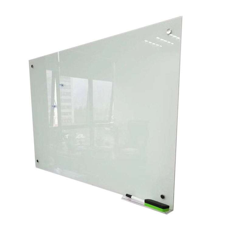 Large Size Office Classroom Tempered Glass Dry Erase Magnetic Glass Whiteboard