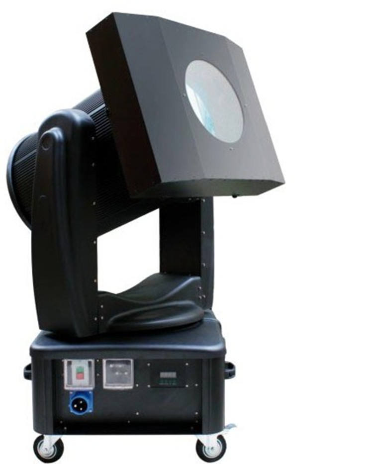 Outdoor sky laser beam 2000w moving head sky light 7Colors search light