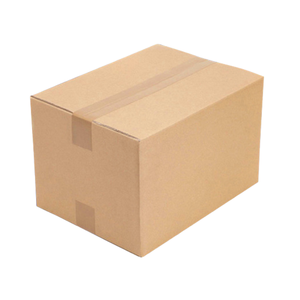 Custom logo 20*20*15 Printing Brown Strengthen Corrugated Cardboard working home Transport Moving Packaging Paper Box