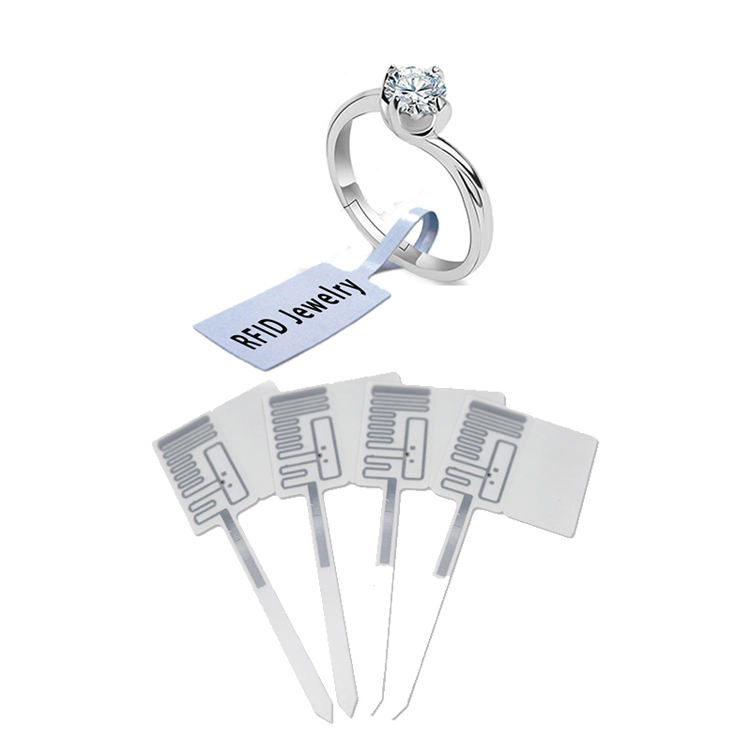 UHF Jewelry Security Tag RFID Price Tag for Inventory Management
