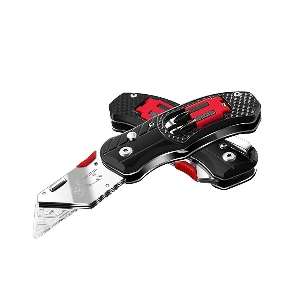 2021 best-selling simple stainless steel multi-function tool folding utility knife