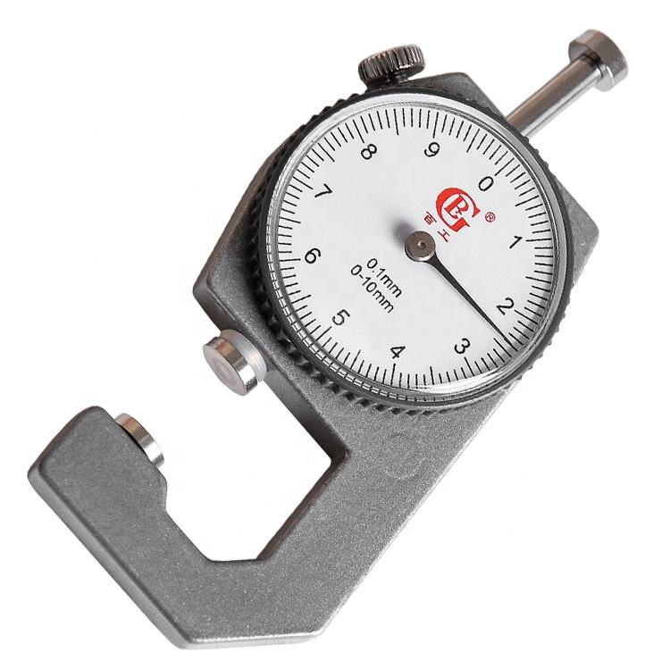 Dial thickness gauge meter tester measuring tools for metal glass rubbersteel plate pipe fabric elcometer paper leather