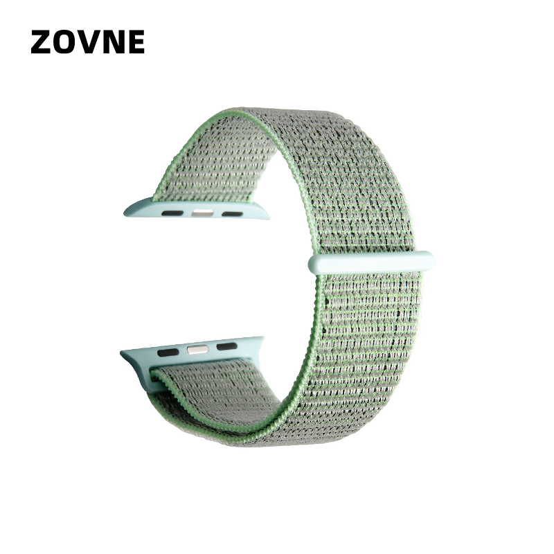 ZOVNE Marina Green Apple Watch Band Outlet Apple Watch 4 40mm Bands