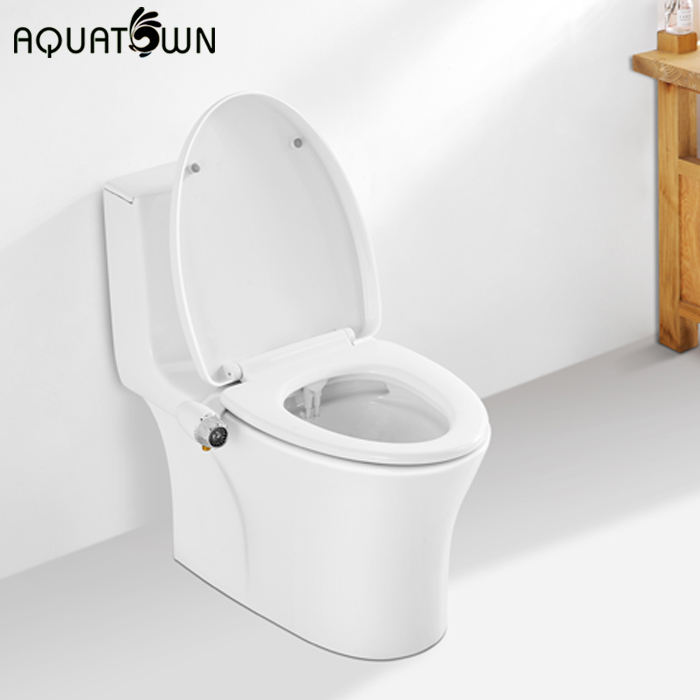 Aquatown Brand New Dual Nozzles Bidet Attachment For Toilet Seat