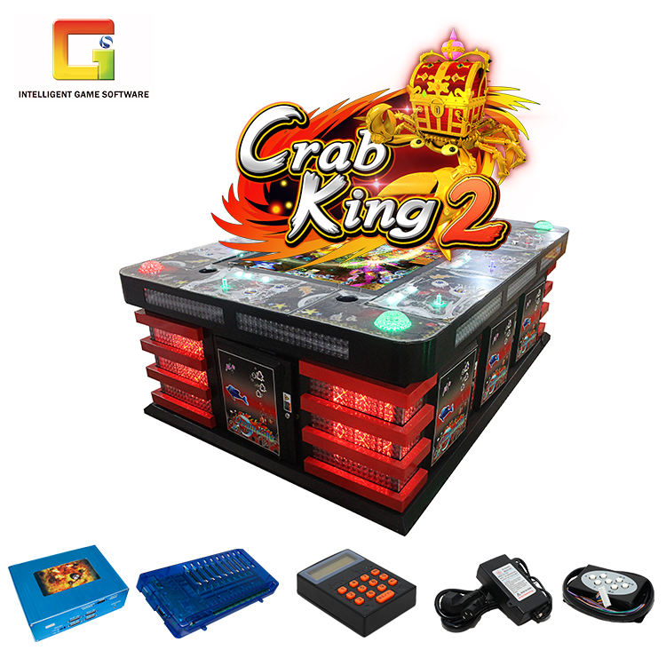 IGS Game Crab King 2 Shooting Skill Fish Game Casino Slot game kit for Arcade Room