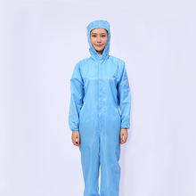 2020 New Style Washable ESD Anti Static Cleanroom Clothes Coverall Work Suit