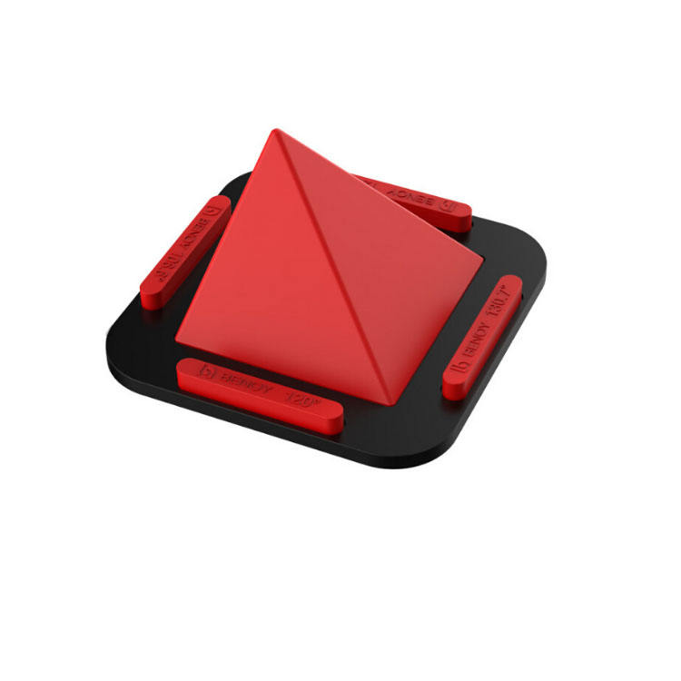Car Navigation Desktop Office Home Multi-functional Silicone Pyramid Mobile Phone Stand