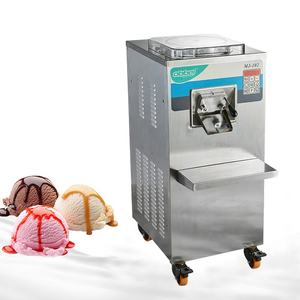 Automatic commercial hard ice cream machine