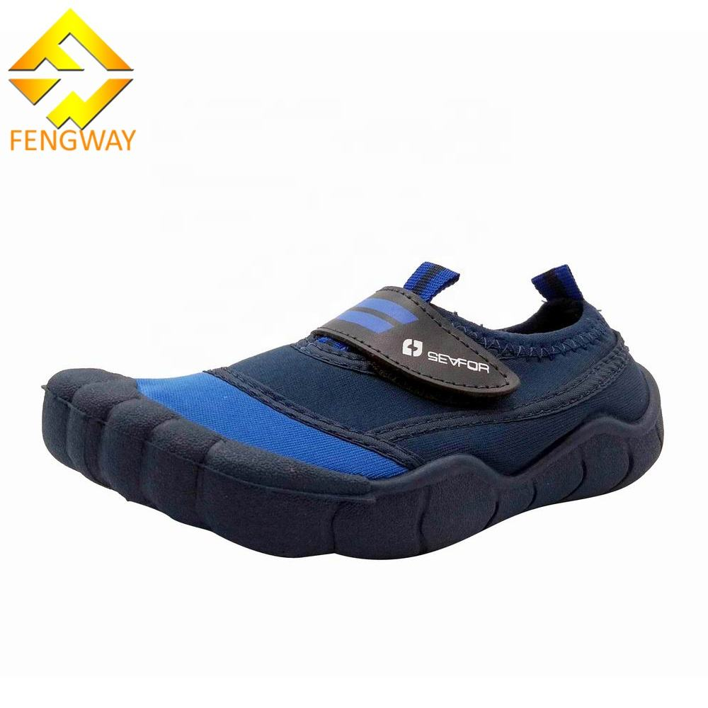 Blue color skin barefoot Five fingers Aqua Water Shoes