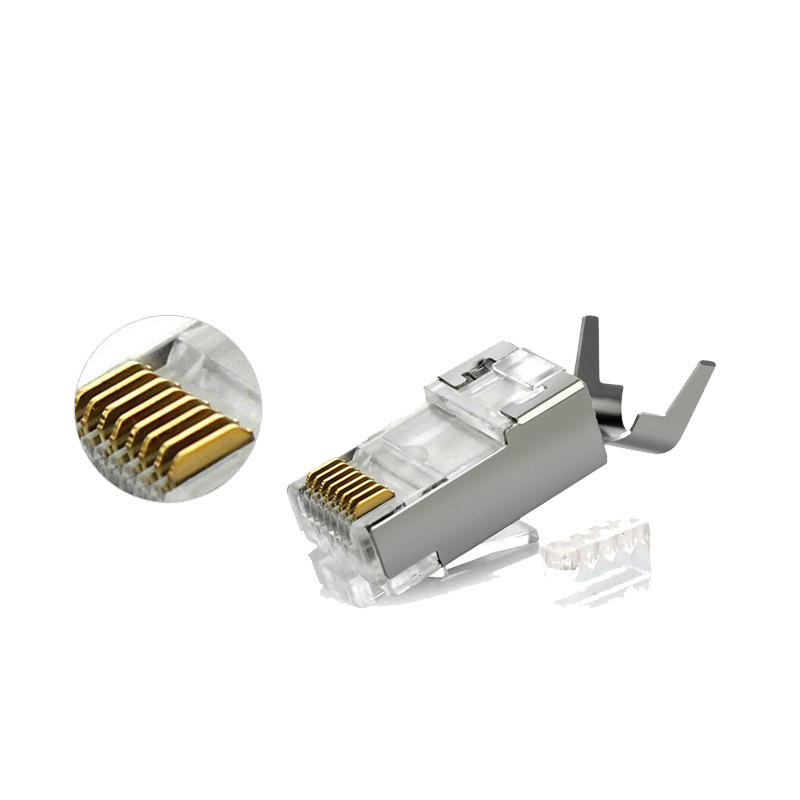 RJ45 CONNECTOR FOR CAT5E CAT6 CAT6A CAT7 CAT8 UTP FTP SFTP RJ45 PLUG PRICE FREE SAMPLE