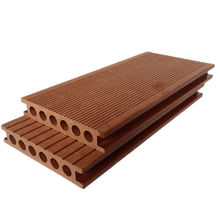 Outdoor plastic wood composite plank flooring wpc floor tiles