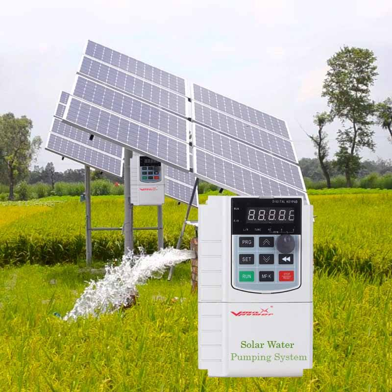 Vmaxpower 4KW VFD inverter for submersible water pump inverter solar pump inverter