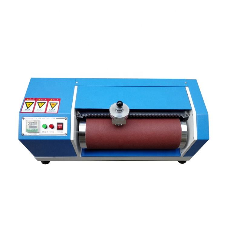 Din abrasion wear friction resistance tester for plastic and rubber testing price