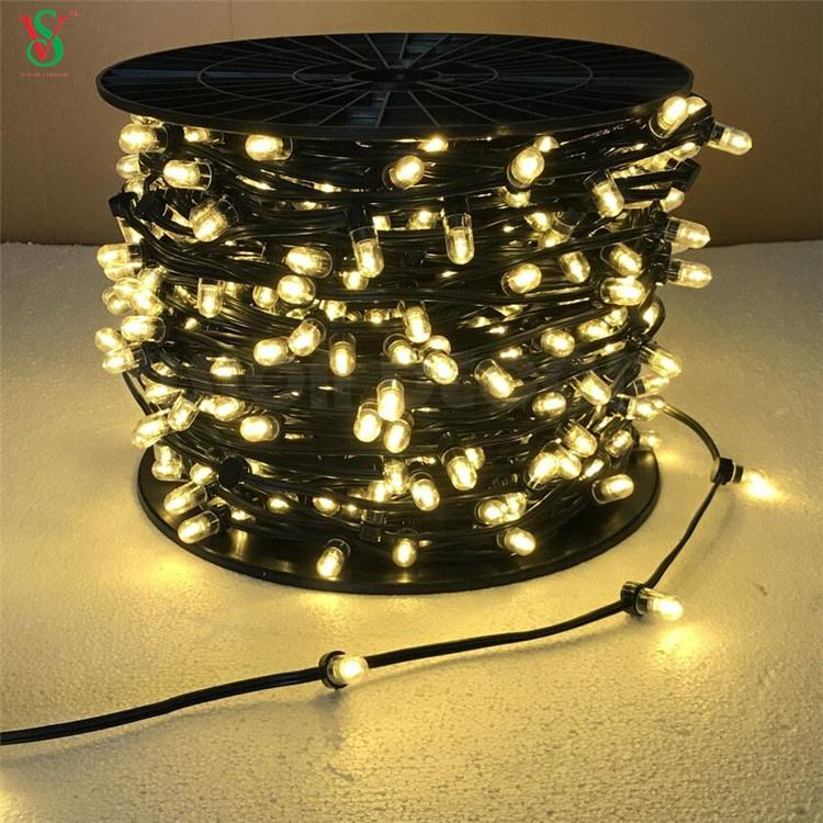 Factory Manufacturer 100m LED String IP65 3000K 12V LED Clip Light for Australia