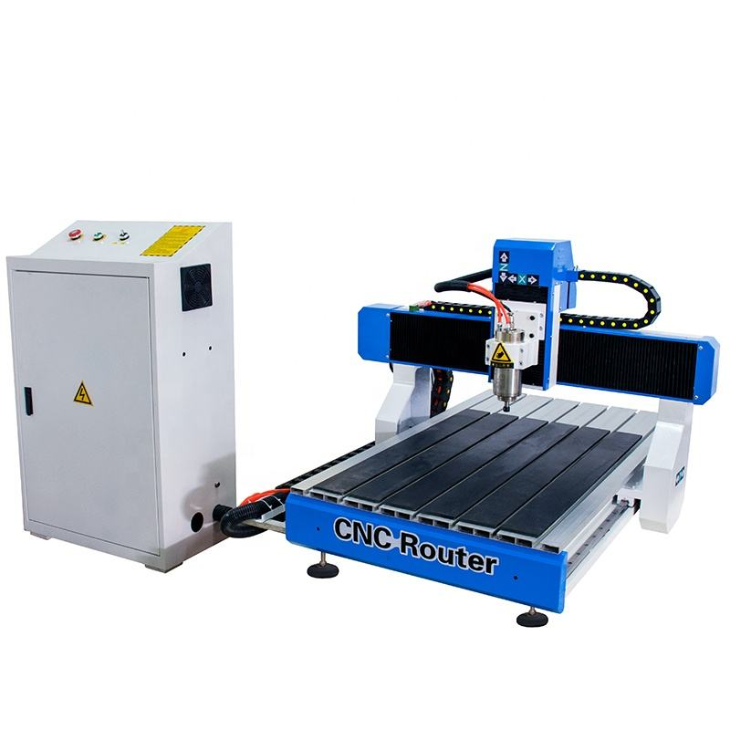 Mini 2.2kw Spindle Motor Desktop 4 Axis Cnc Router 6090 For Sale