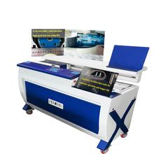 hardcover maker DB-65G  perfect glue book binding machine with side glue A3 size glue binding machine  book maker