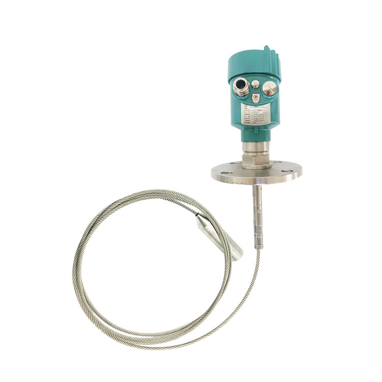 HCCK HCDAR51 26G guided wave radar level meter sensor used for liquids and Solid particles relay radar