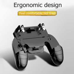 Gamepad For Phone 5 in 1 Game Joystick Gaming Console Handle Pad Fire Aim Button For Gaming Accessories