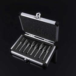 Hot selling high quality tungsten carbide rotary file burrs set